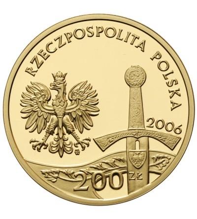 Poland 200 Zlotych 2006, Jezdziec Piastowski
