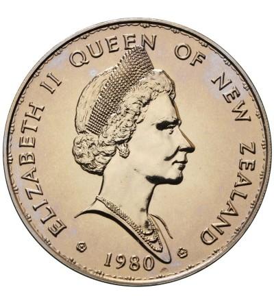New Zealand Dollar 1980