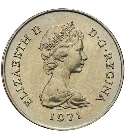 Gibraltar 25 New Pence (Crown) 1971