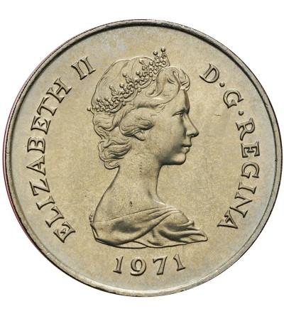 Gibraltar 25 nowych pensów (Crown) 1971