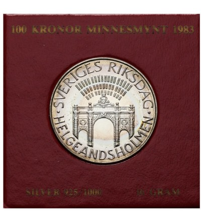 Szwecja 100 koron 1985