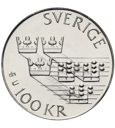 Szwecja 100 koron 1985, europejski rok muzyki
