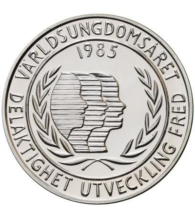 Szwecja 100 koron 1988, 350 lat szwedzkiej kolonii - Delaware