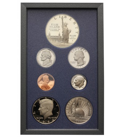USA zestaw monet 1986 S - Proof Set