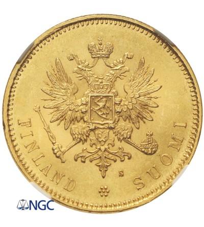 Finlandia 20 marek 1879 S - NGC MS 64