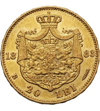 Rumunia 20 lei 1883 B