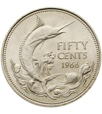 Wyspy Bahama 50 centów 1966