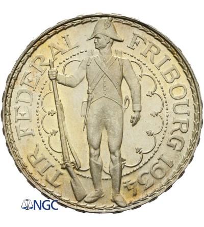 Switzerland 5 Francs 1934 B, Fribourg