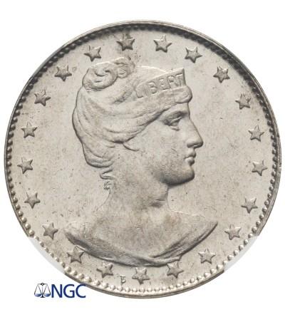 Brazylia 100 Reis 1901 - NGC MS 63