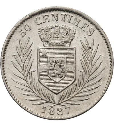 Kongo Belgijskie 50 centimes 1887