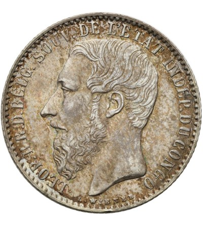 Kongo Belgijskie 1 frank 1896