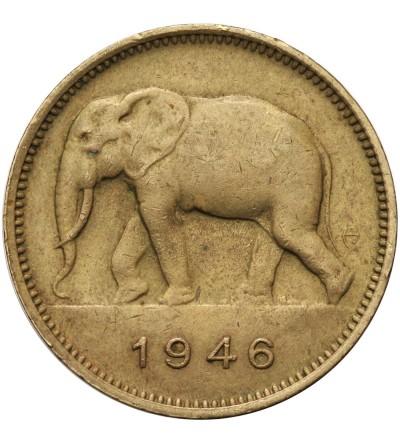Kongo Belgijskie 2 franki 1946