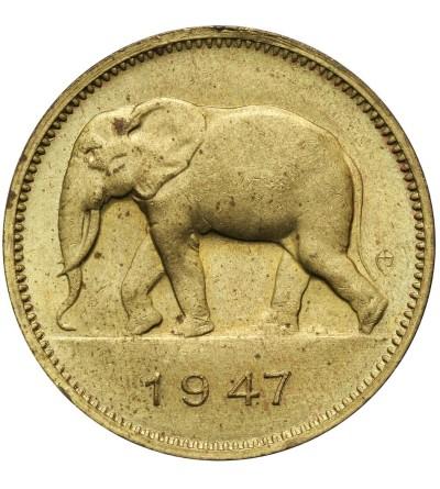 Kongo Belgijskie 2 franki 1947