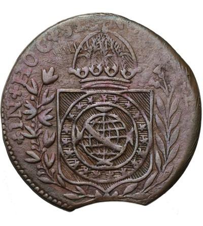 Brazil 40 Reis 1823-1831 - Mint Struck Error