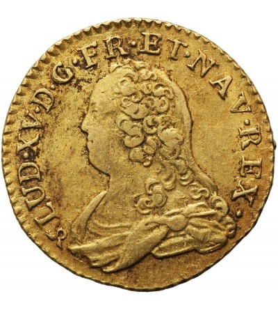 Francja 1 Louis D'or 1732 B, Rouen
