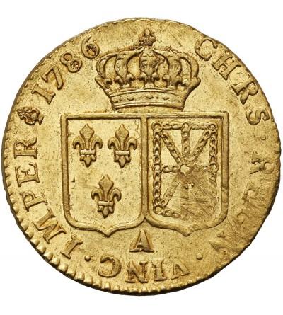 Francja Louis d'or 1786 A, Paryż