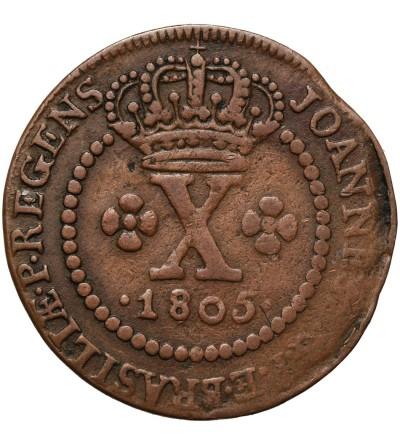 Brazil 10 Reis 1805