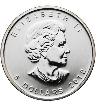 Kanada 5 dolarów 2012, puma - kolorowa emalia