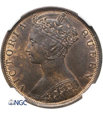 Hong Kong Cent 1900 H - NGC MS 62 BN