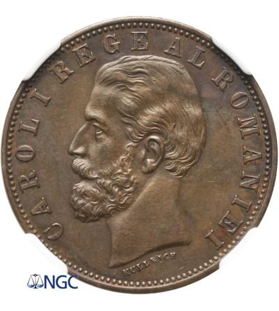 Rumunia 5 Bani 1882 B - NGC 62 BN