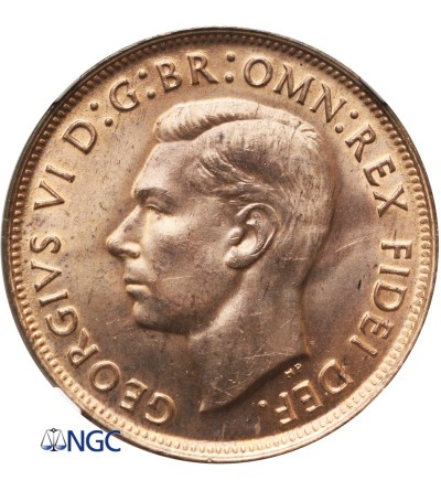 Australia 1 Penny 1949 - NGC MS 64 RD