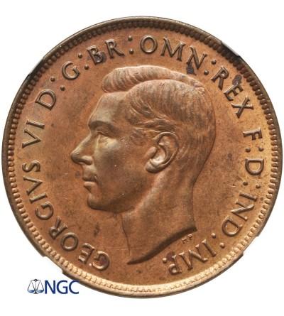 Australia 1 Penny 1938 (M) - NGC MS 63 RB