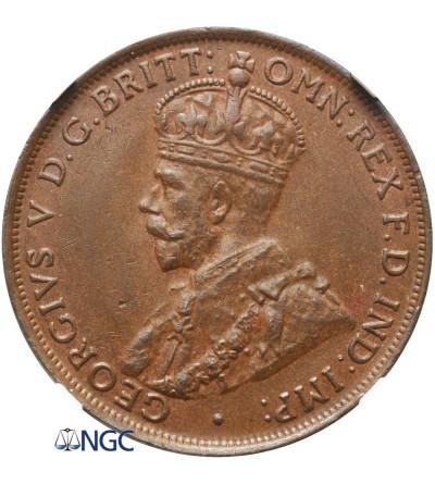 Australia 1 Penny 1936 - NGC MS 62 BN