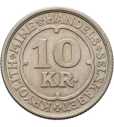 Grenlandia 10 koron 1922