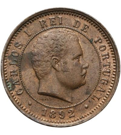 Portugalia 5 reis 1892