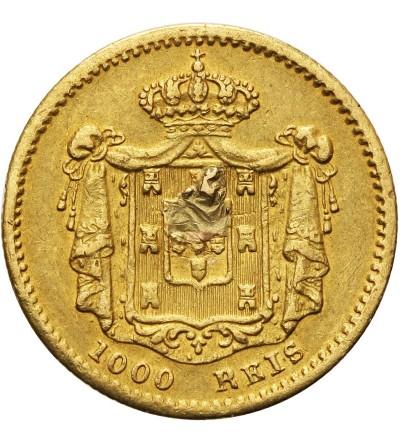 Portugalia 1000 Reis 1855
