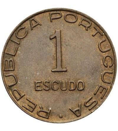 Mozambik 1 escudo 1945
