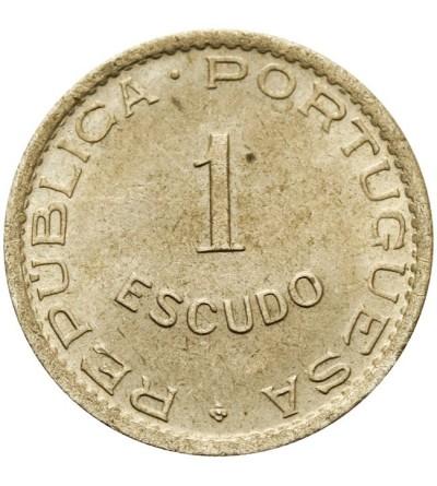 Mozambik 1 escodo 1951