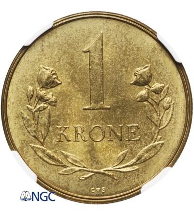 Grenlandia 1 korona 1957 - NGC MS 66