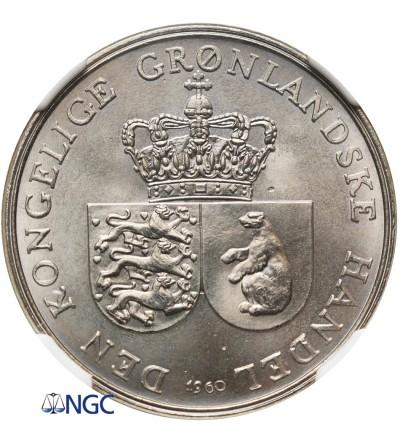 Grenlandia 1 korona 1960 - NGC MS 67