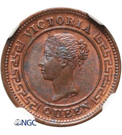 Ceylon 1/4 Cent 1901 - NGC MS 65 BN