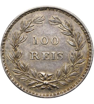 Portugalia 100 Reis 1843