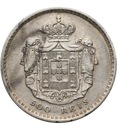 Portugalia 500 Reis 1849