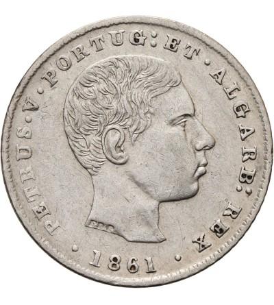 Portugalia 100 Reis 1861