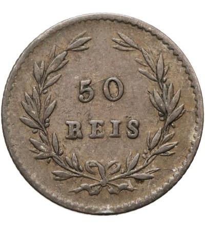 Portugalia 50 Reis 1861