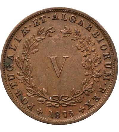 Portugalia 5 Reis 1875