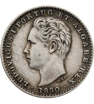 Portugal 100 Reis 1880