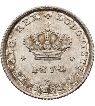 Portugal 50 Reis 1874