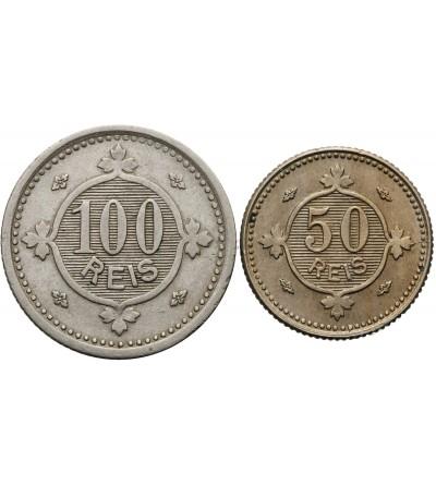 Portugalia 50, 100 Reis 1900