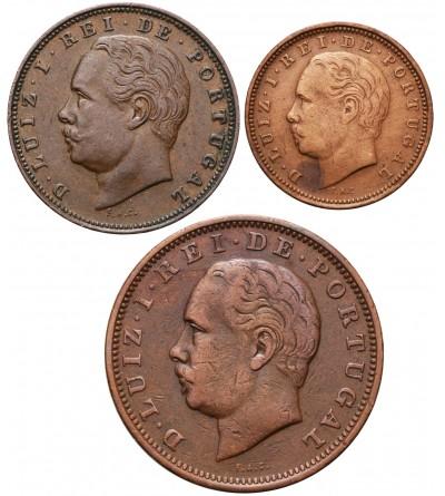Portugalia 5, 10, 20 Reis 1882-1883