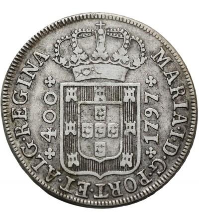 Portugalia 400 Reis 1797