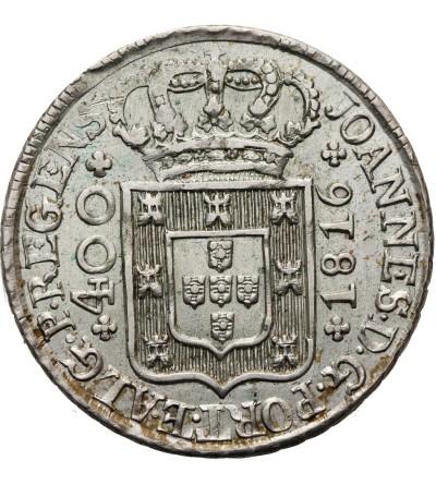 Portugal 400 Reis 1816