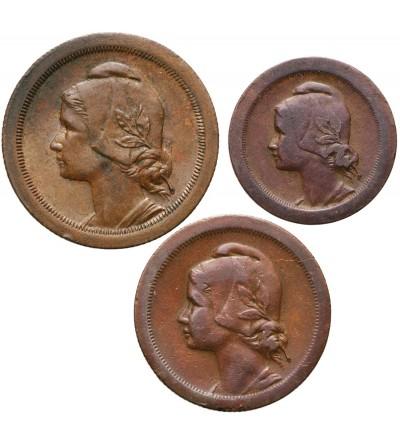 Portugal 5, 10, 20 Centavos 1925-1927