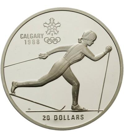 Kanada 20 dolarów 1986, Calgary 1988