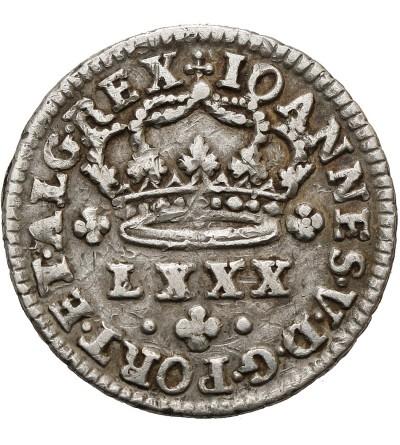 Portugal 80 Reis ND (1706-1750)