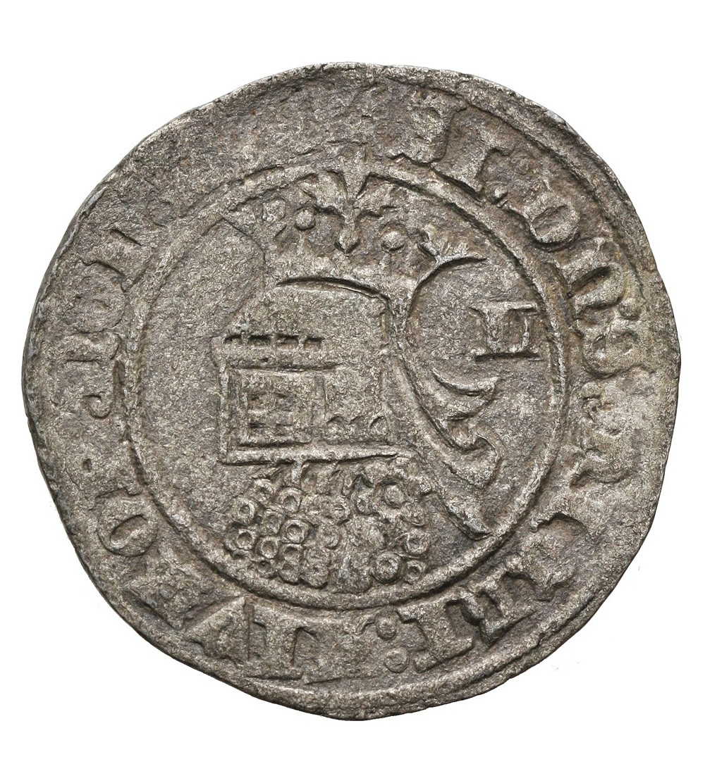 Portugalia Barbuda (28 Dinheros) bez daty, Fernando I 1367-1383